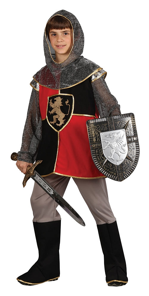 Sentinel Medieval Knight Boys Fancy Dress Renaissance Historical Kids Childrens Costume  sc 1 st  eBay & Medieval Knight Boys Fancy Dress Renaissance Historical Kids ...