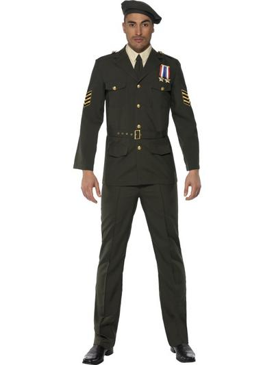 Wartime Military Officer Costume