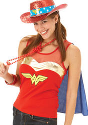 Wonder Woman Top and Cape