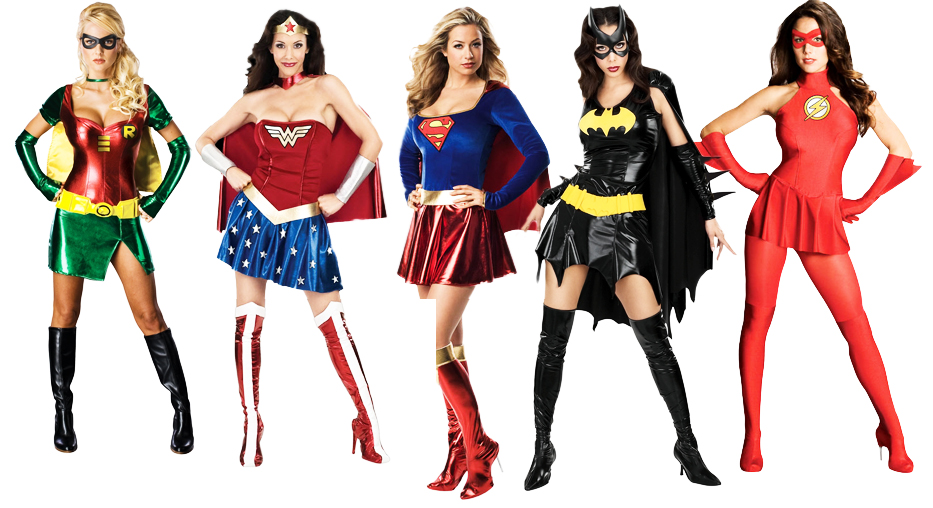 Sentinel Superhero Costume Ladies Fancy Dress Womens Comic Book Adult  Costume