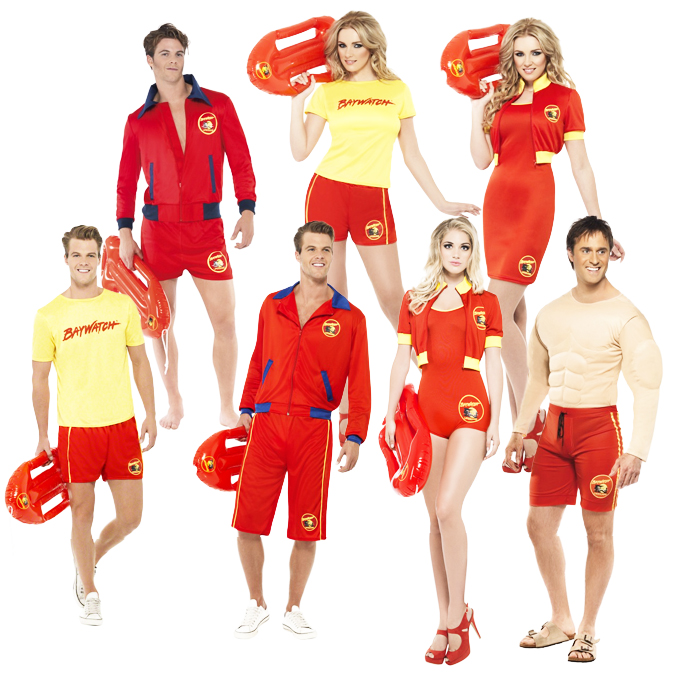 Sentinel Baywatch Lifeguard Adult Fancy Dress Beach 80s TV Character Mens Ladies Costume  sc 1 st  eBay & Baywatch Lifeguard Adult Fancy Dress Beach 80s TV Character Mens ...