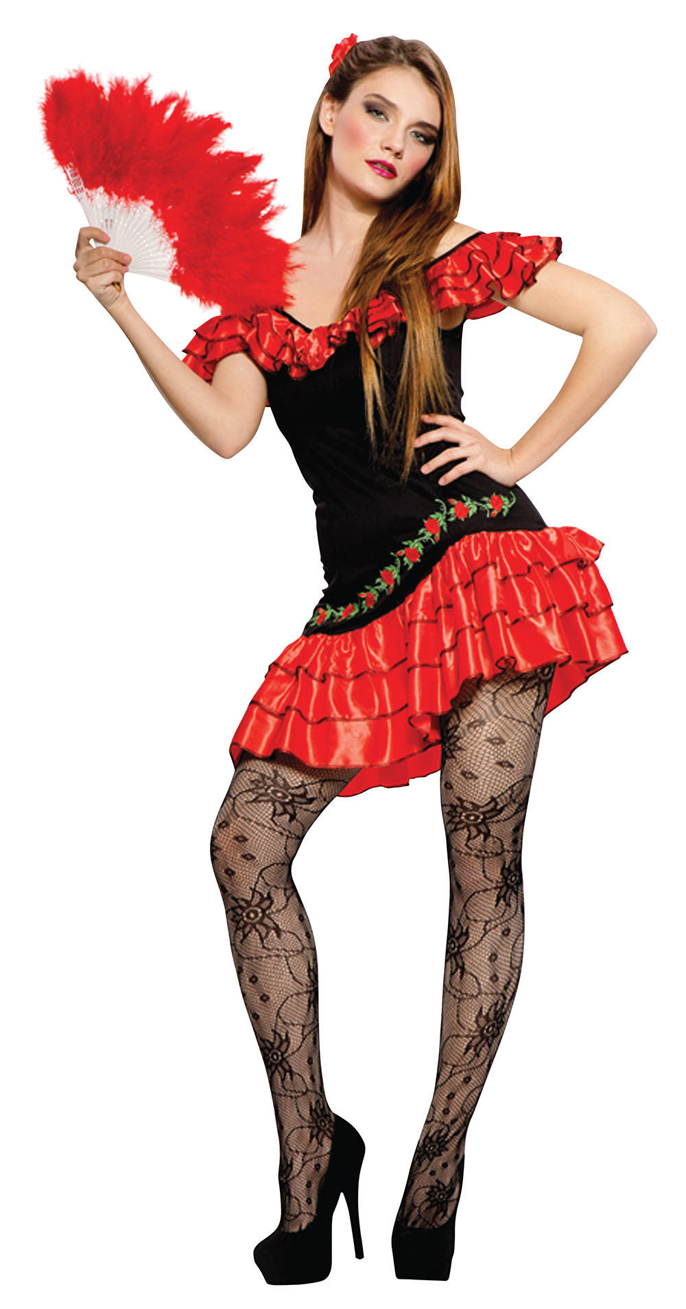 Sexy Spanish Lady Costume