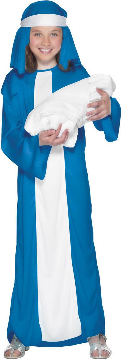 Girl's Mary Christmas Nativity Costume