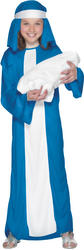 Girl's Mary Christmas Nativity Costume