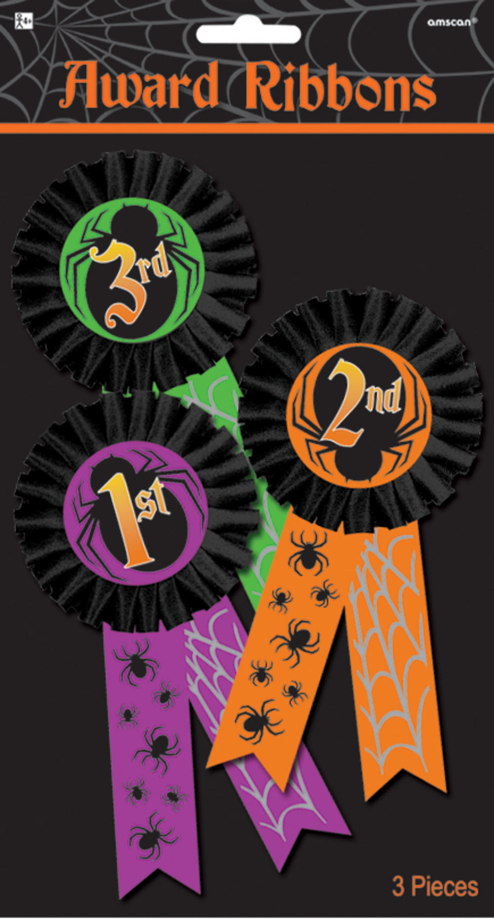 Halloween Award Ribbon Multi-Pack
