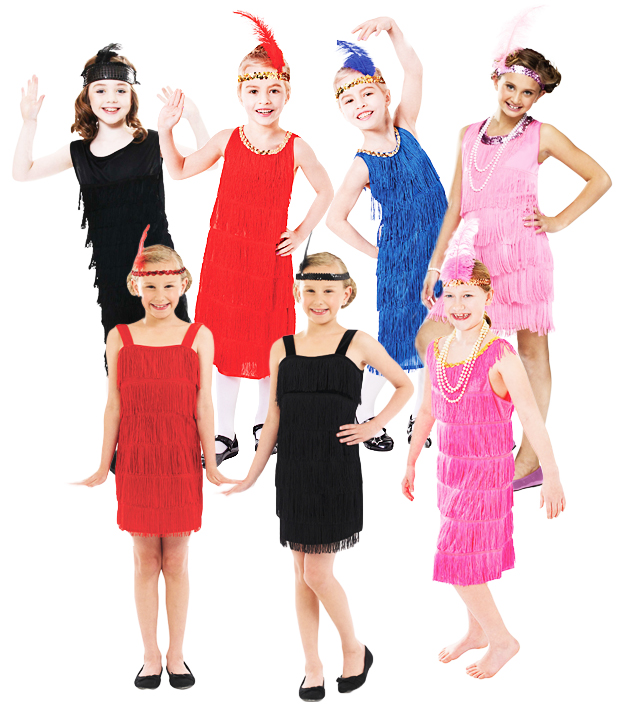 1920s flapper girls fancy dress charleston gatsby 20s kids childrens sentinel 1920s flapper girls fancy dress charleston gatsby 20s kids childrens costume new solutioingenieria