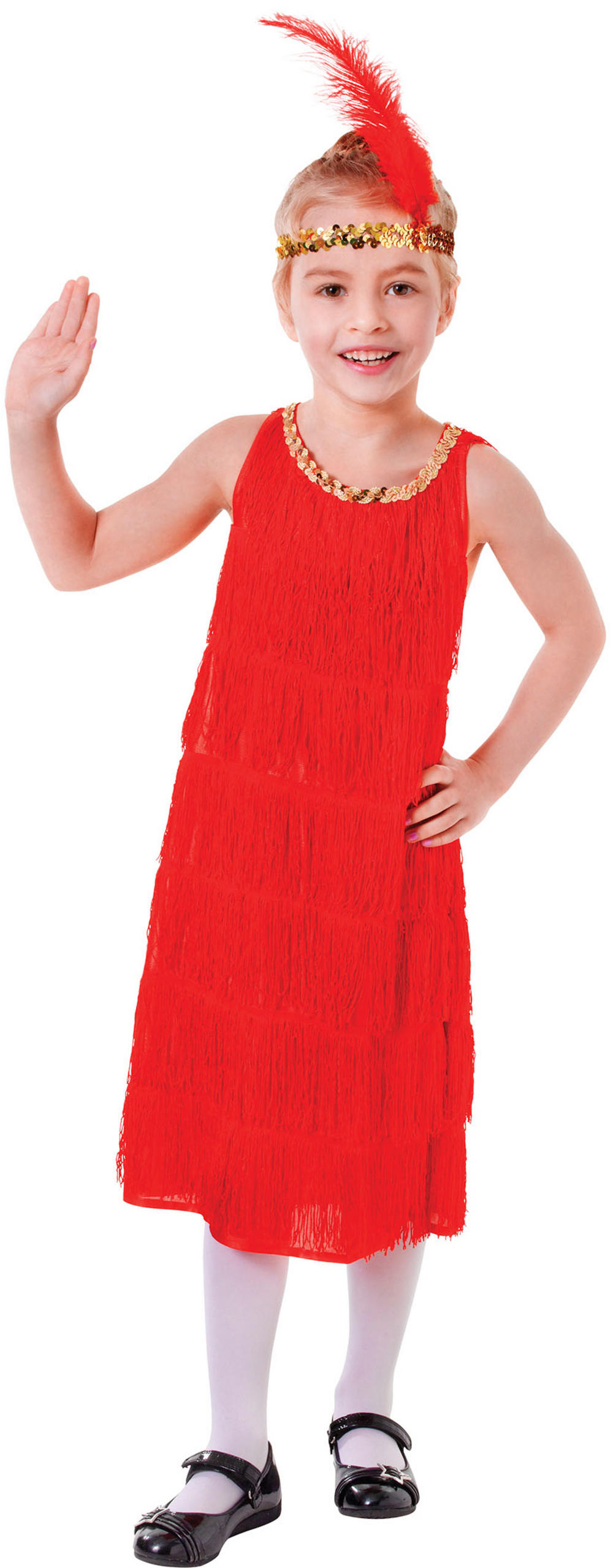 Red Flapper Dress