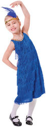 Blue Flapper Dress