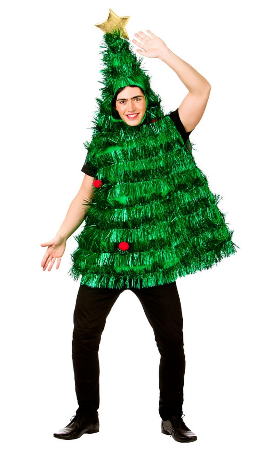 Deluxe Tinsel Christmas Tree Costume