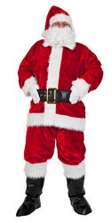 Regal Plush Santa Costume