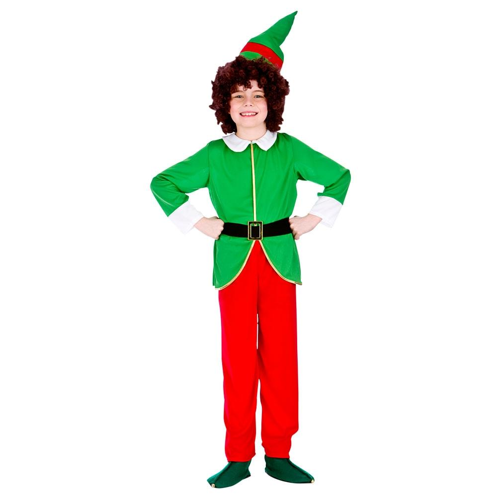 Christmas Elf Costume.Funny Christmas Elf Costume