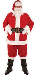 Deluxe Santa Claus Costume Plus Size