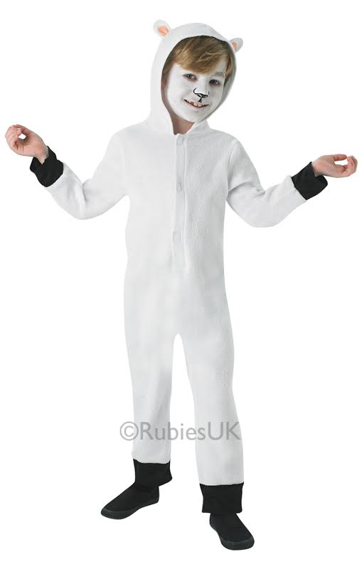 Nativity Sheep Costume  sc 1 st  Mega Fancy Dress & Nativity Sheep Costume | Kids Christmas Costumes | Mega Fancy Dress
