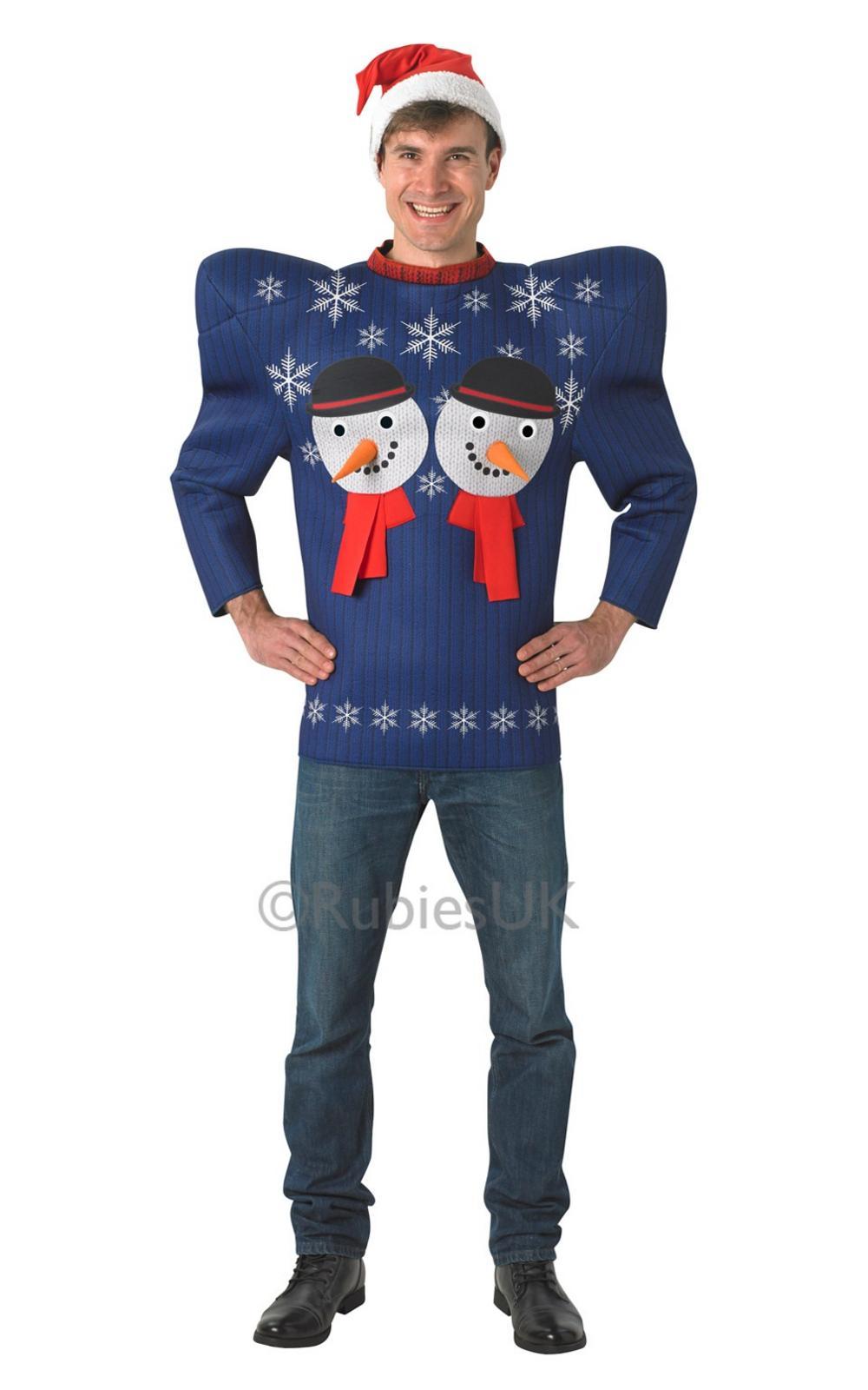 Christmas Snowman Jumper