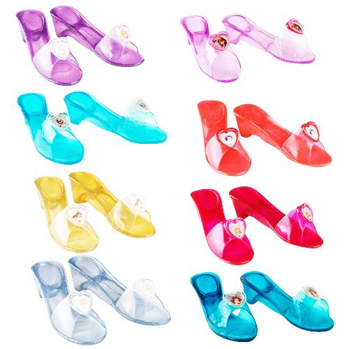 Disney Jelly Shoes Girls Fancy Dress