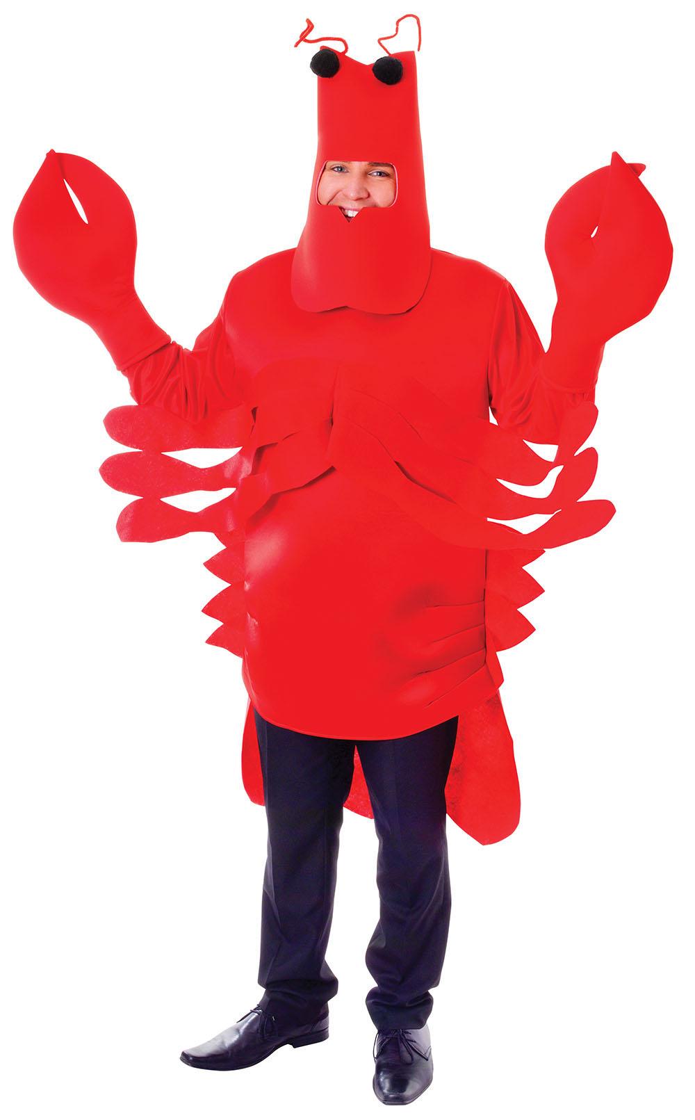 Lobster Costume | Mens Halloween Costumes | Mega Fancy Dress