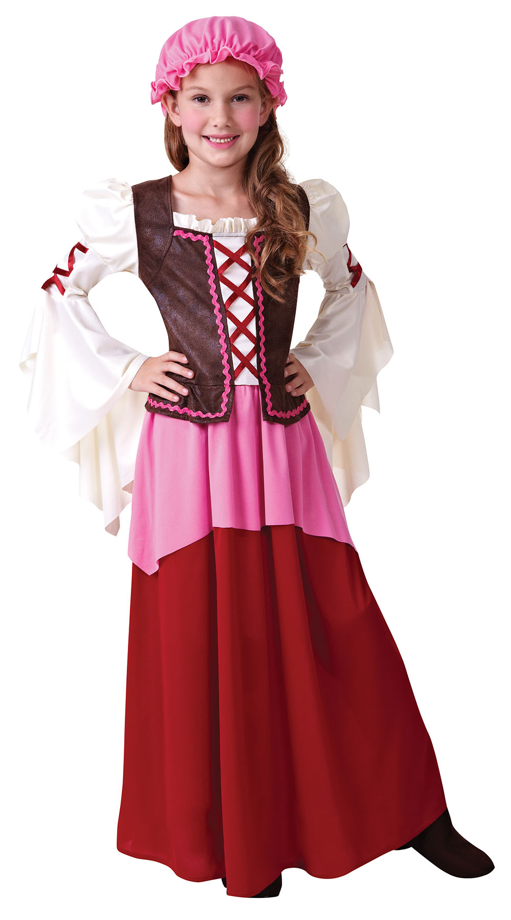 Tavern Girl Costume | Girl\'s World Book Day Fancy Dress Costumes ...