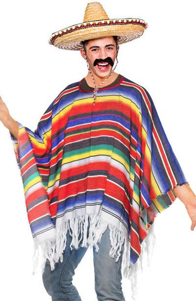 Mexican Poncho Fancy Dress