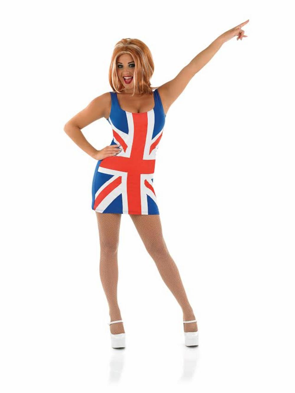 Union Jack Dress Costume