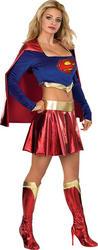 Deluxe Sexy Supergirl Costume