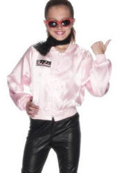 Girls Grease Pink Jacket