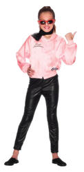 Girls Grease Pink Ladies Jacket