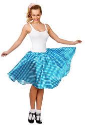 50s Retro Blue Skirt