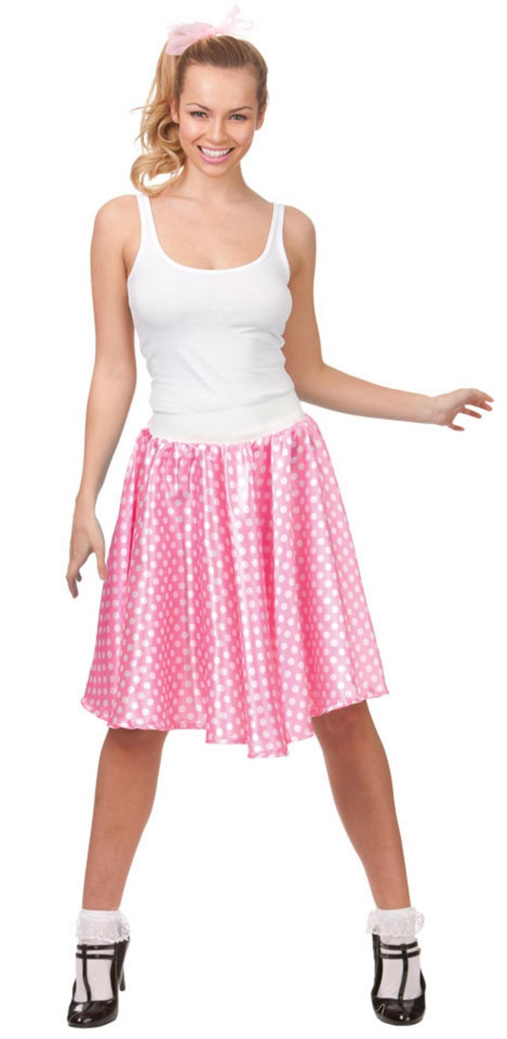 50s Retro Pink Skirt