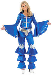 Blue Dancing Queen Costume