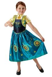 Frozen Fever Anna Costume Kids Fancy Dress