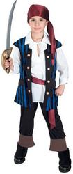Kids Pirate King Costume