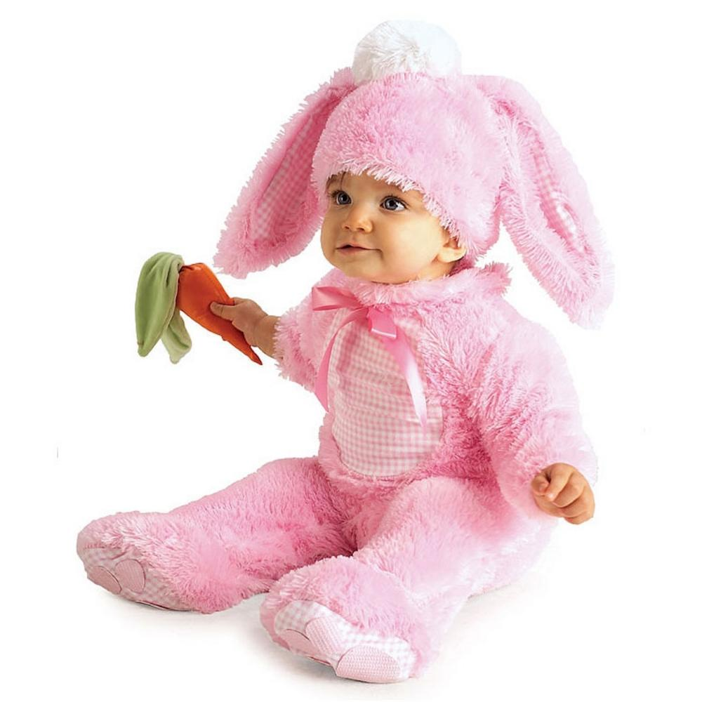 43b88c94b Babies Pink Precious Rabbit Costume: | Storybook Animal Fancy Dress | Mega  Fancy Dress