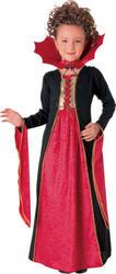 Girls Gothic Vampiress Costume