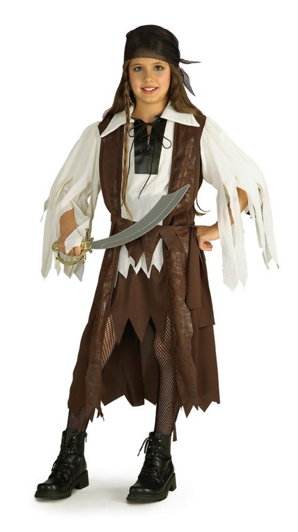 Caribbean Pirate Queen Costume