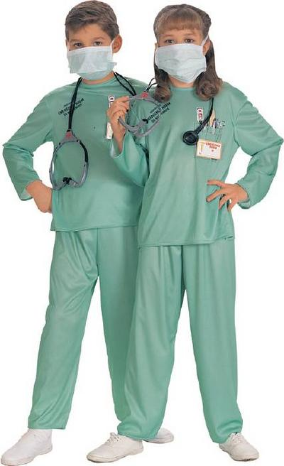 Kids ER Doctor Costume