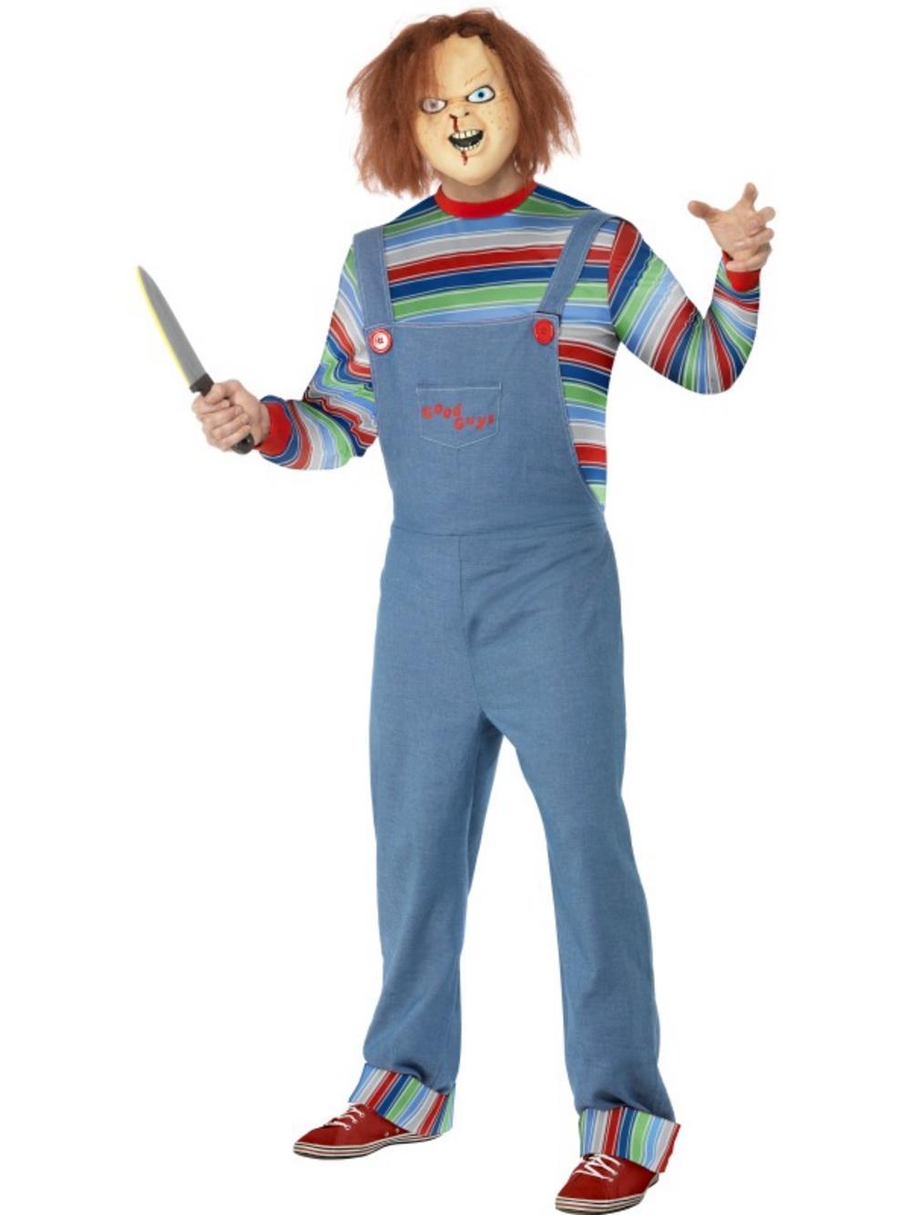 Chucky Halloween Costume | Horror Film Costumes | Mega Fancy Dress