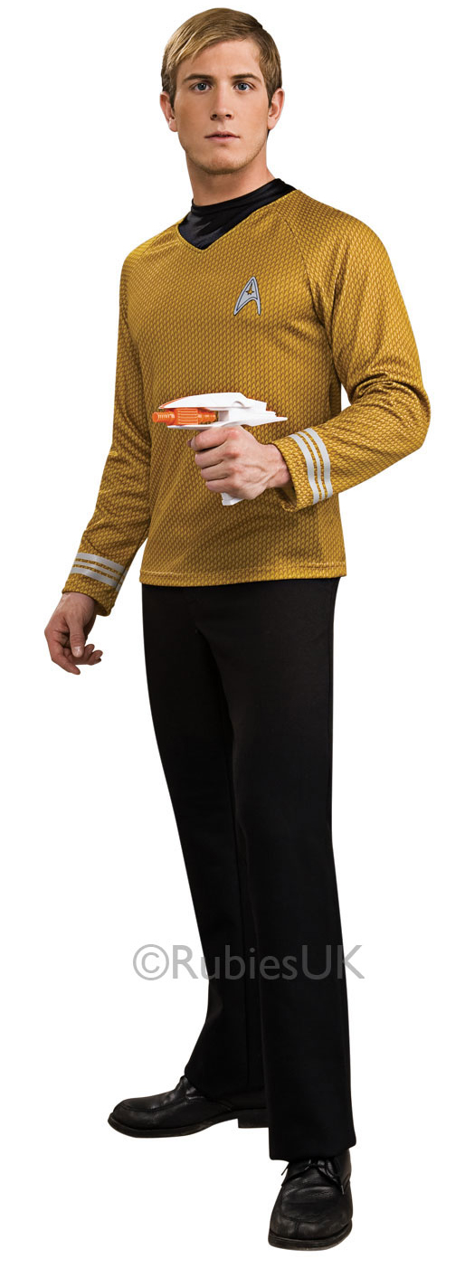 Sentinel Deluxe Star Trek Adults Fancy Dress Sci Fi Trekky Mens Ladies Costume Outfits  sc 1 st  eBay & Deluxe Star Trek Adults Fancy Dress Sci Fi Trekky Mens Ladies ...