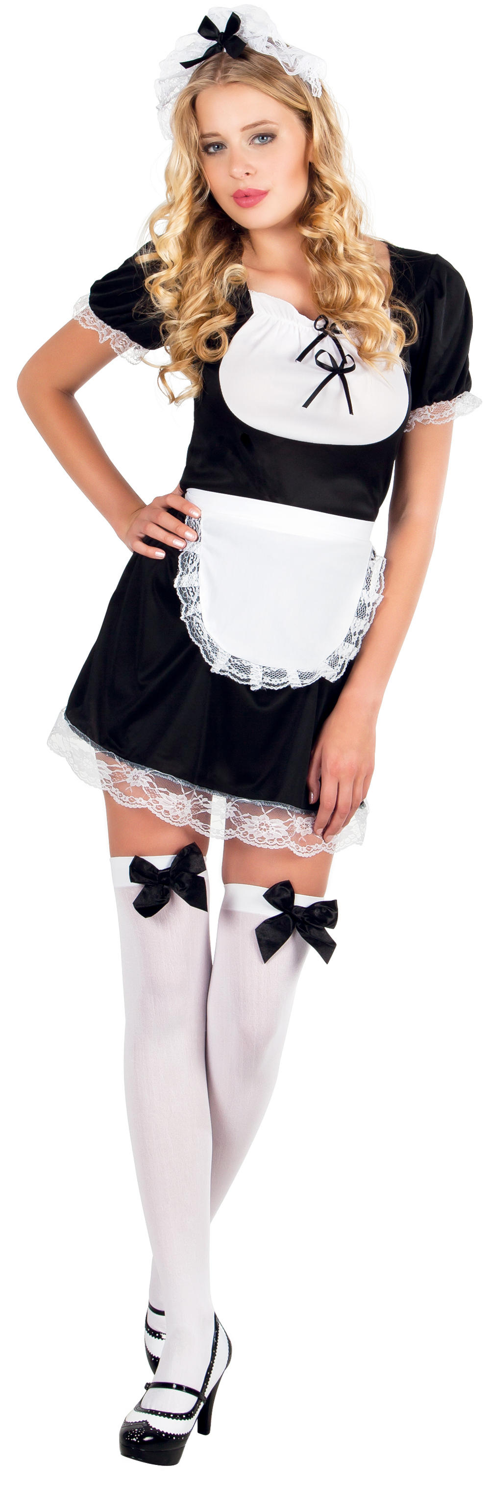 French Maid Claudette Costume