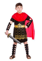 Roman Commander Boys Costume