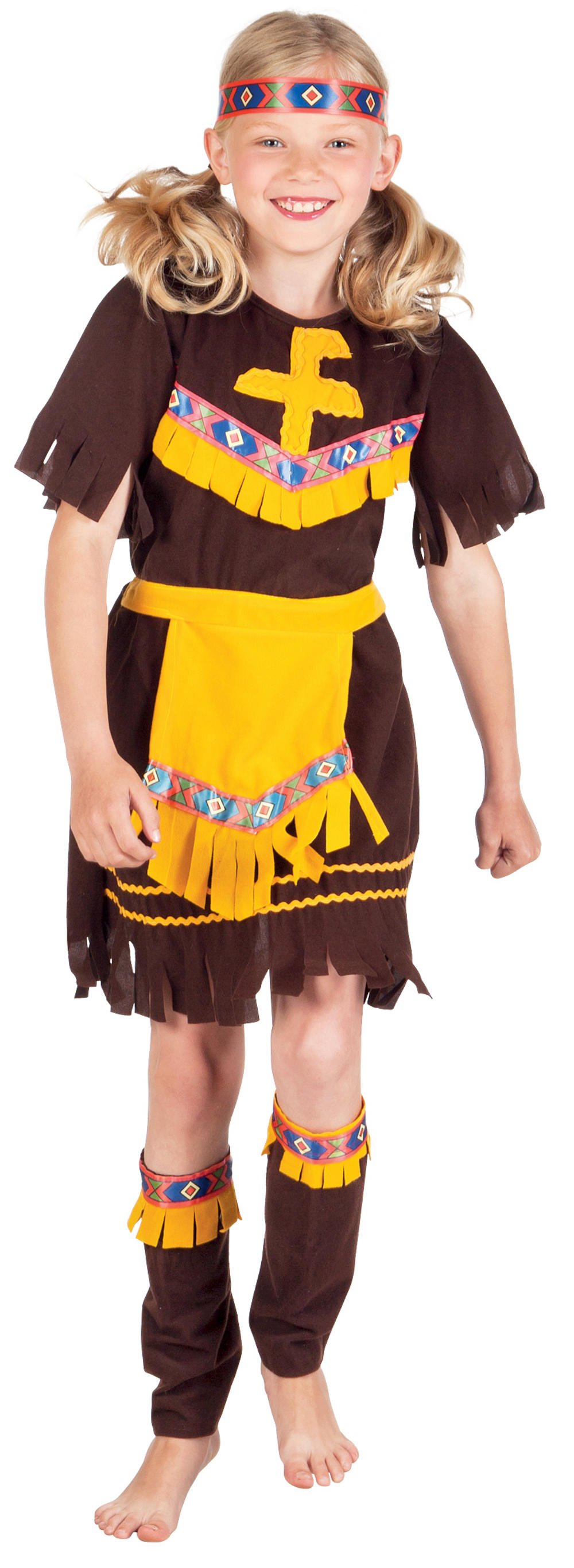 Little Barefoot Indian Costume