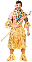 Zulu Warrior Costume Set