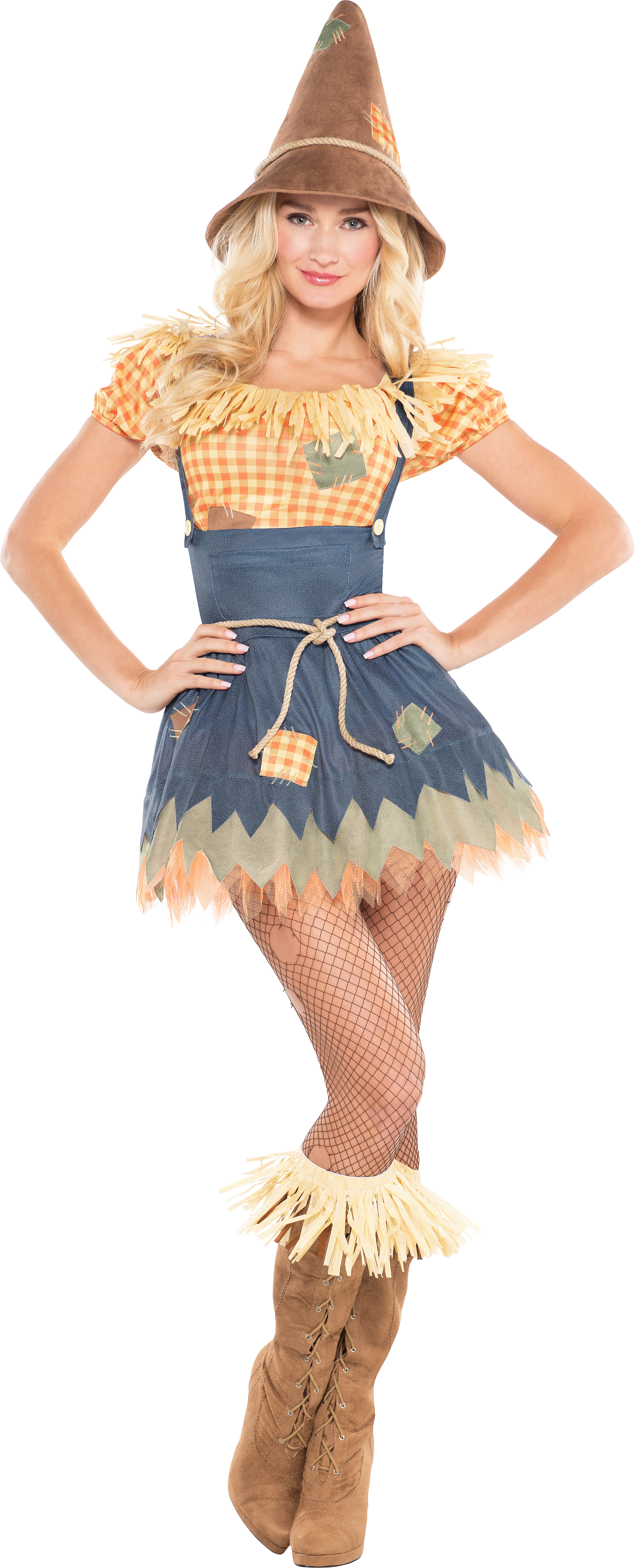 Christmas Party Fancy Dress Ideas Part - 38: Sultry Scarecrow Costume