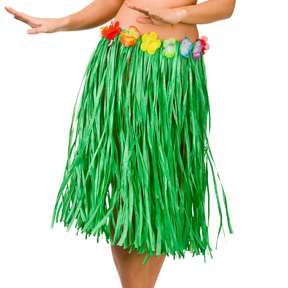 Green Hula Skirt Costume Accessory