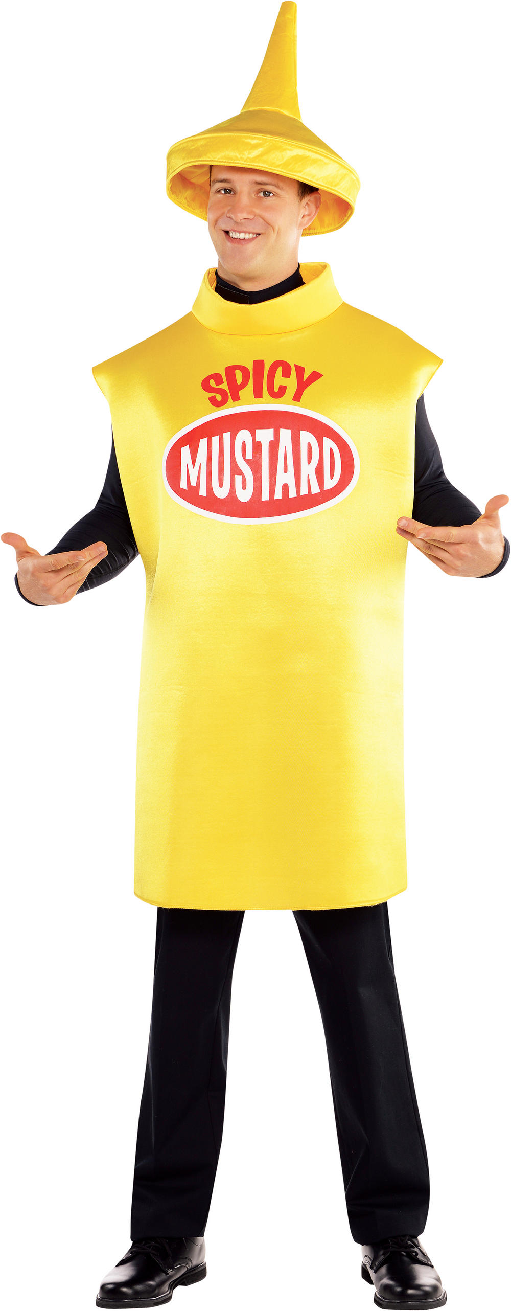 Mustard Bottle Costume