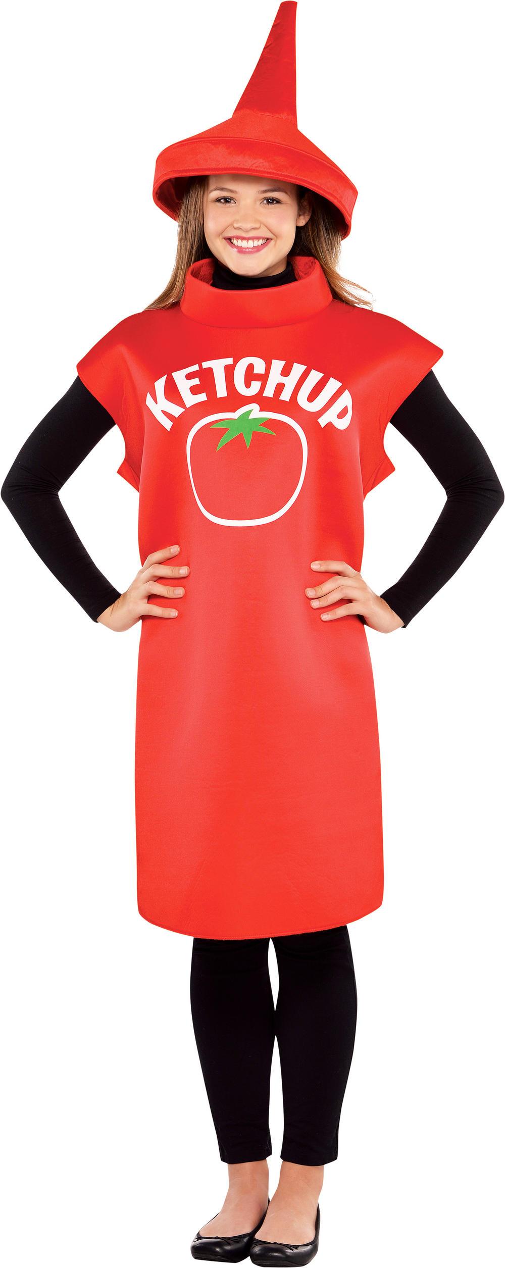 Ketchup Bottle Costume