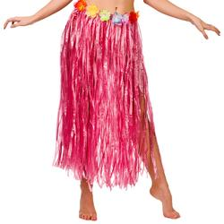 Ladies Pink Hula Skirt