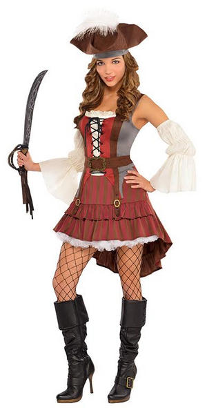 Castaway Pirate Costume