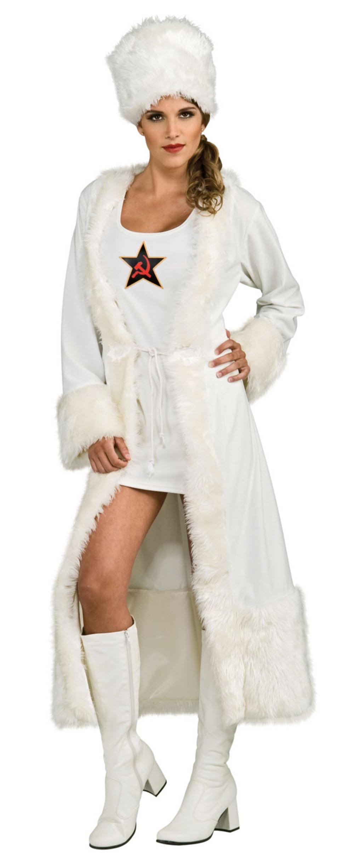 White Russian Costume  sc 1 st  Mega Fancy Dress & White Russian Costume | All Ladies Costumes | Mega Fancy Dress