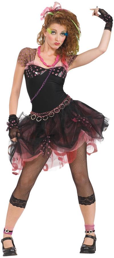 80s Diva Ladies Costume