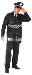 Policeman Fancy Dress Costume